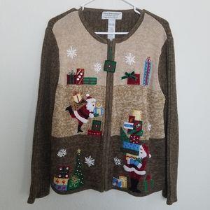 Tiara International Christmas collection sweater